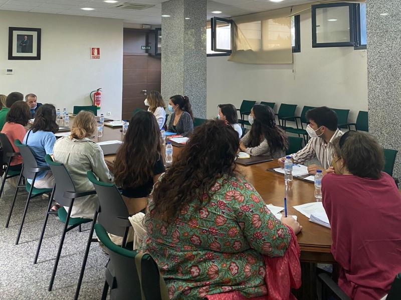 Reunión del Defensor con ONG de Melilla
