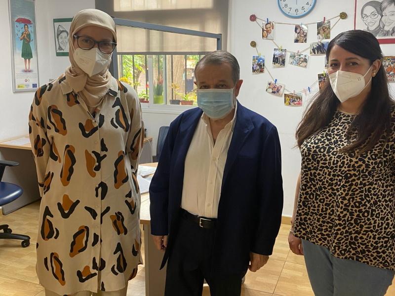 El Defensor visita el CETI de Melilla