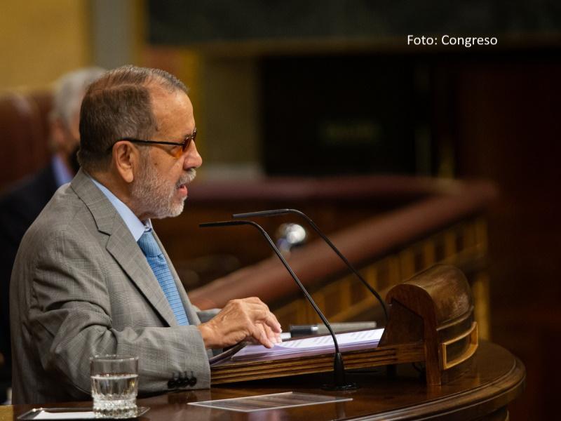 Francisco Fernández Marugán presenta el Informe Anual 2020 en el Pleno de Congreso de los Diputados